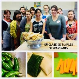 Clase tamales vegetarianos